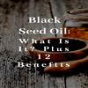 Qué es el aceite de semilla negra y cómo puede ayudarle | HappyBodyFormula.com